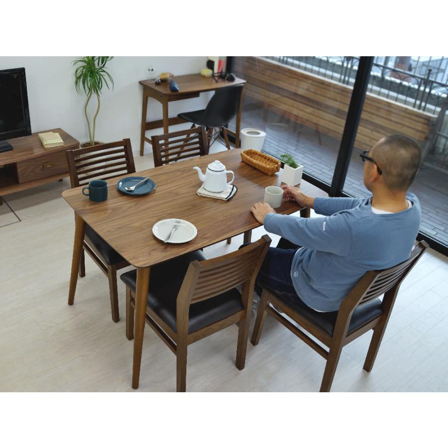 ダイニングテーブル トムテ 2〜4名用 木製 TAC-242WAL W120cm 東谷(azumaya) tomte 3244p 06