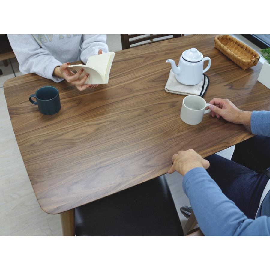 ダイニングテーブル トムテ 2〜4名用 木製 TAC-242WAL W120cm 東谷(azumaya) tomte 3244p 07