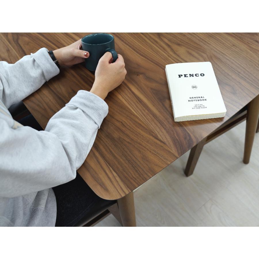 ダイニングテーブル トムテ 2〜4名用 木製 TAC-242WAL W120cm 東谷(azumaya) tomte 3244p 08