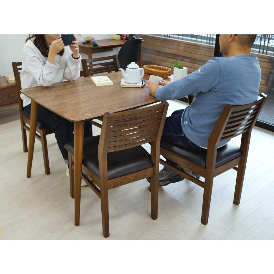 ダイニングテーブル トムテ 2〜4名用 木製 TAC-242WAL W120cm 東谷(azumaya) tomte 3244p 09