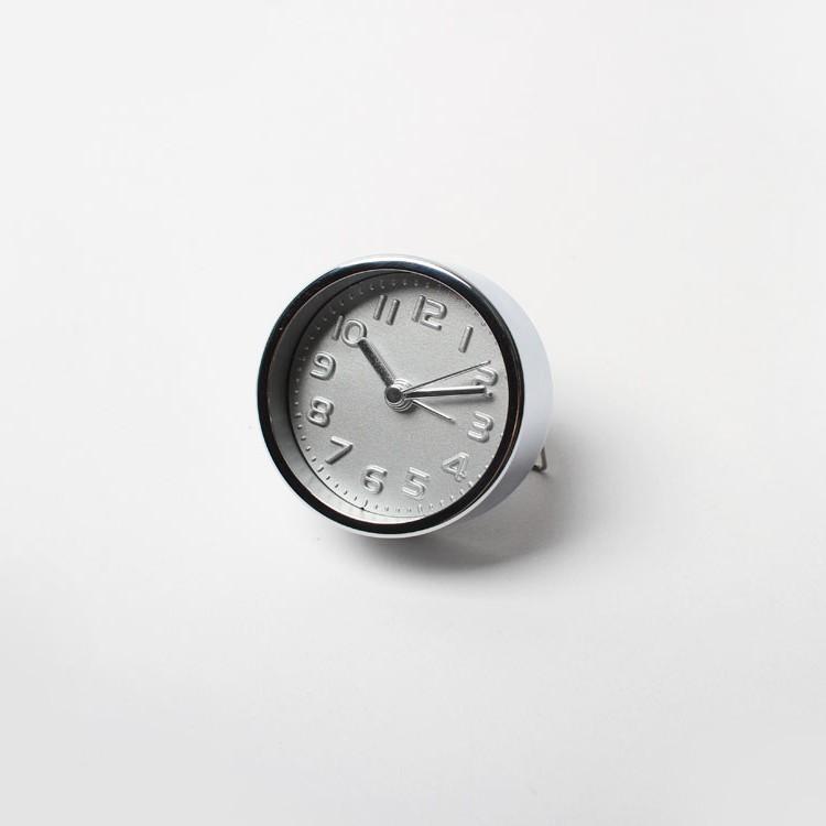 買物 Mini Silver Alarm Clock ブランド品 kikkerland ミニシルバーアラームクロック