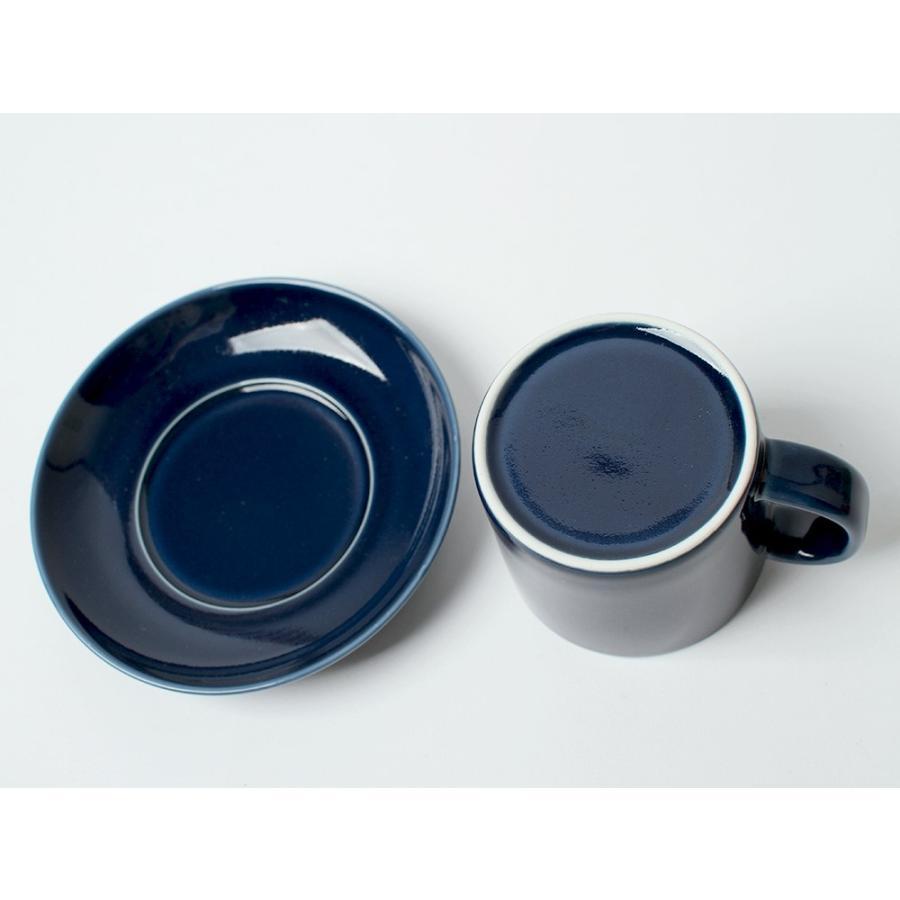 Common コーヒーC&S 180ml カップ ソーサー セット 西海陶器 SAIKAI WH GY YE NV RD GR|3244p|11