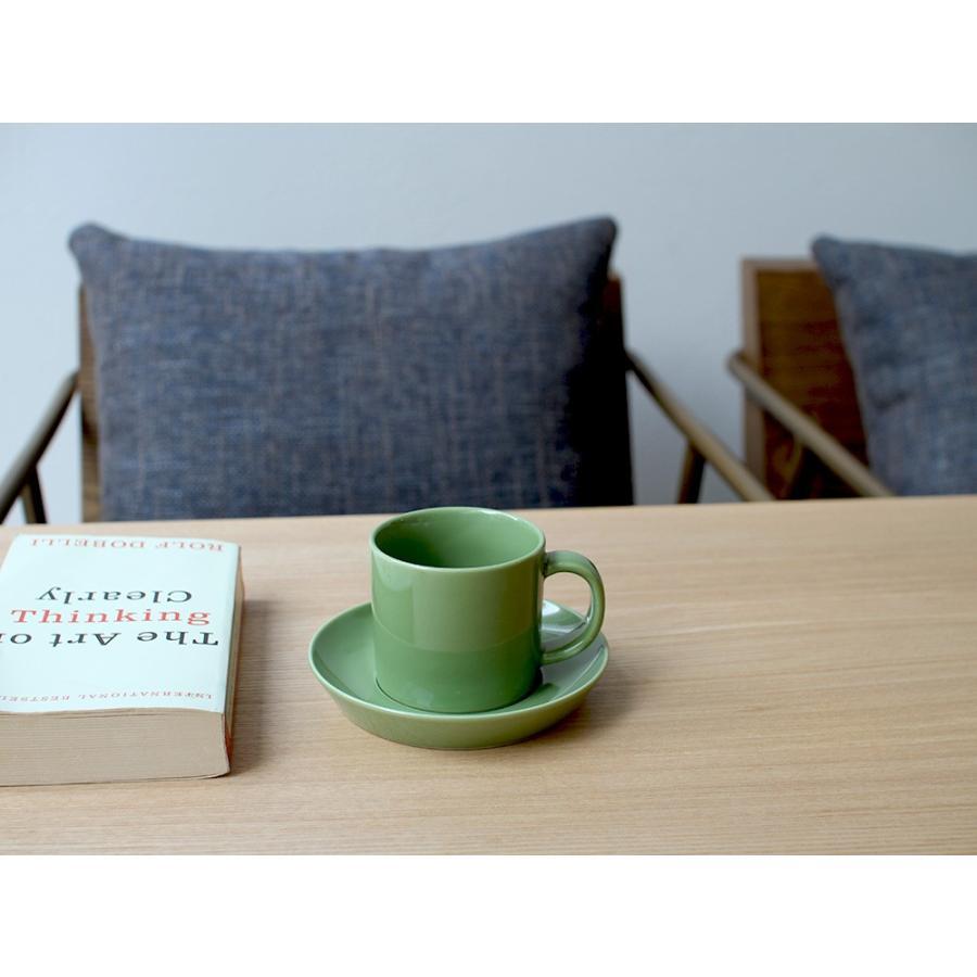 Common コーヒーC&S 180ml カップ ソーサー セット 西海陶器 SAIKAI WH GY YE NV RD GR|3244p|15