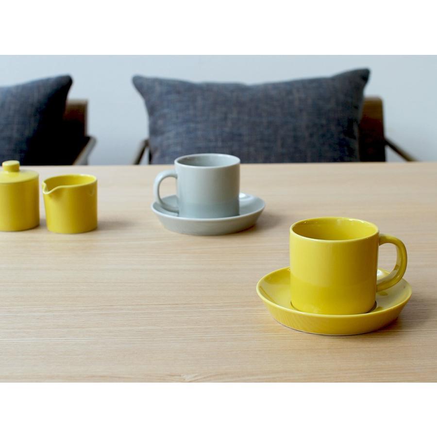 Common コーヒーC&S 180ml カップ ソーサー セット 西海陶器 SAIKAI WH GY YE NV RD GR|3244p|18