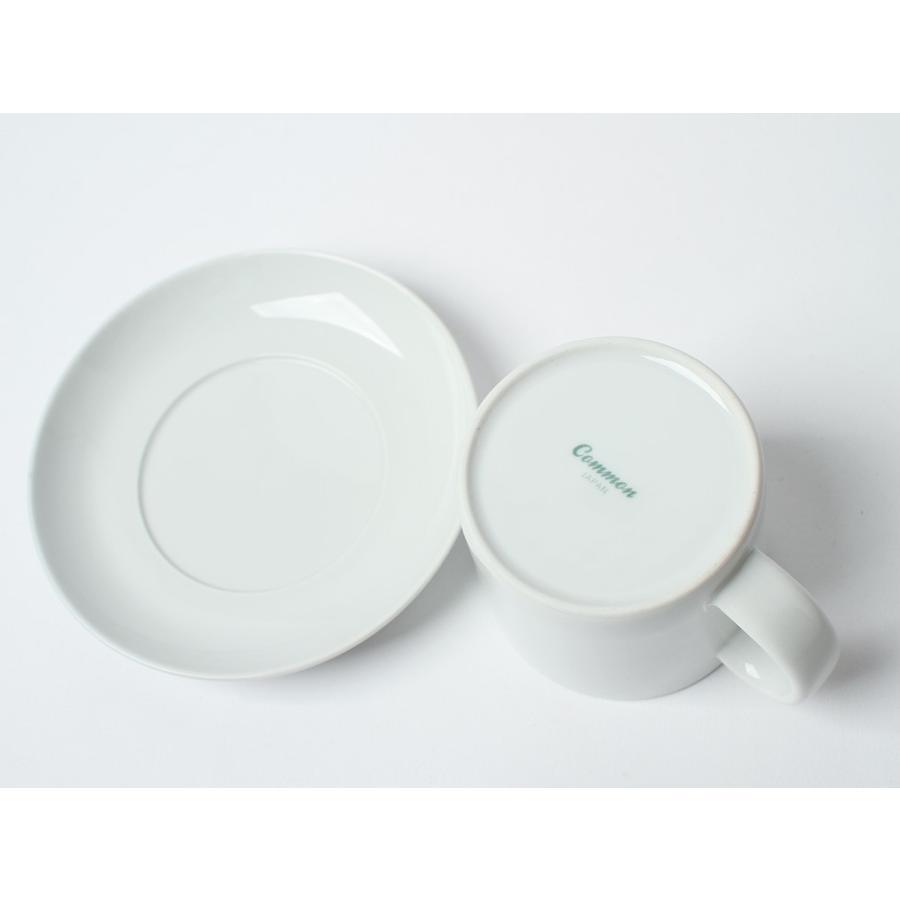 Common コーヒーC&S 180ml カップ ソーサー セット 西海陶器 SAIKAI WH GY YE NV RD GR|3244p|07