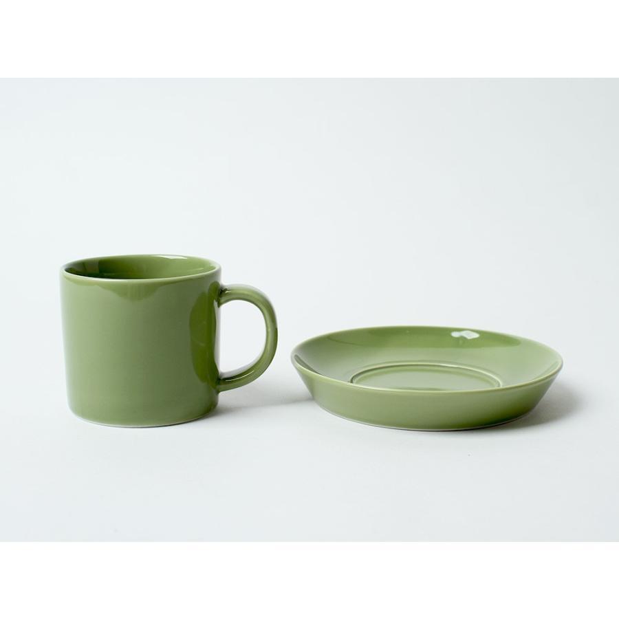 Common コーヒーC&S 180ml カップ ソーサー セット 西海陶器 SAIKAI WH GY YE NV RD GR|3244p|10