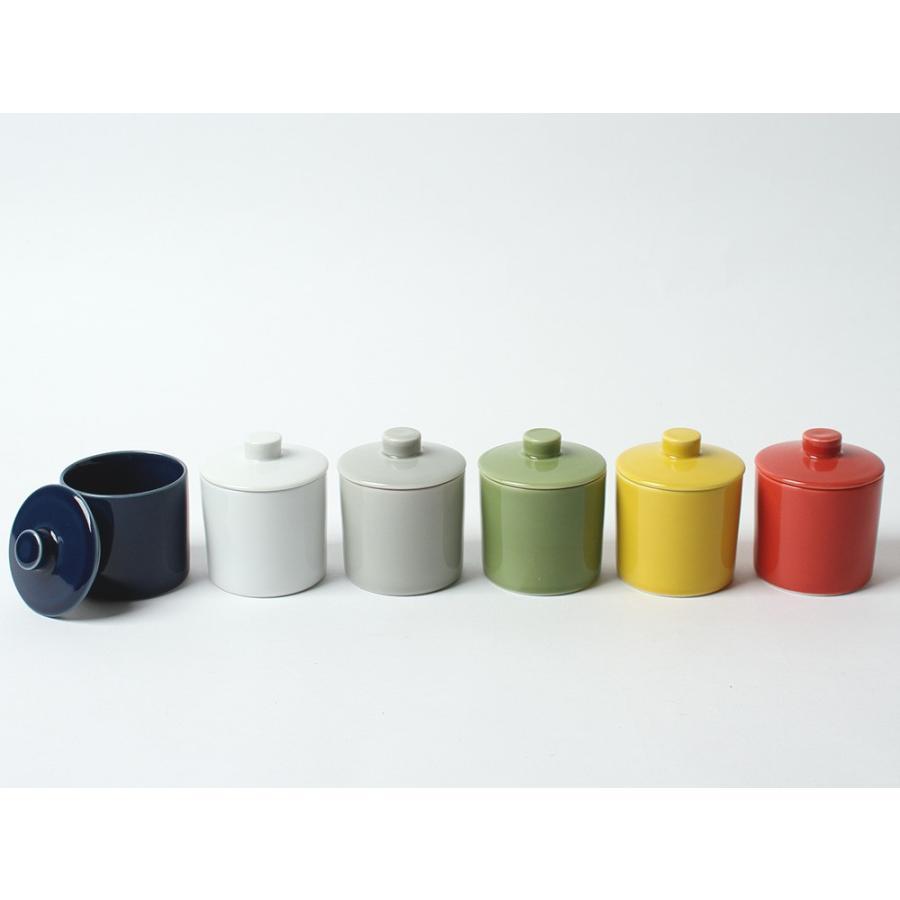 Common シュガーポット 100ml 砂糖入れ 西海陶器 SAIKAI WH GY YE NV RD GR|3244p|02