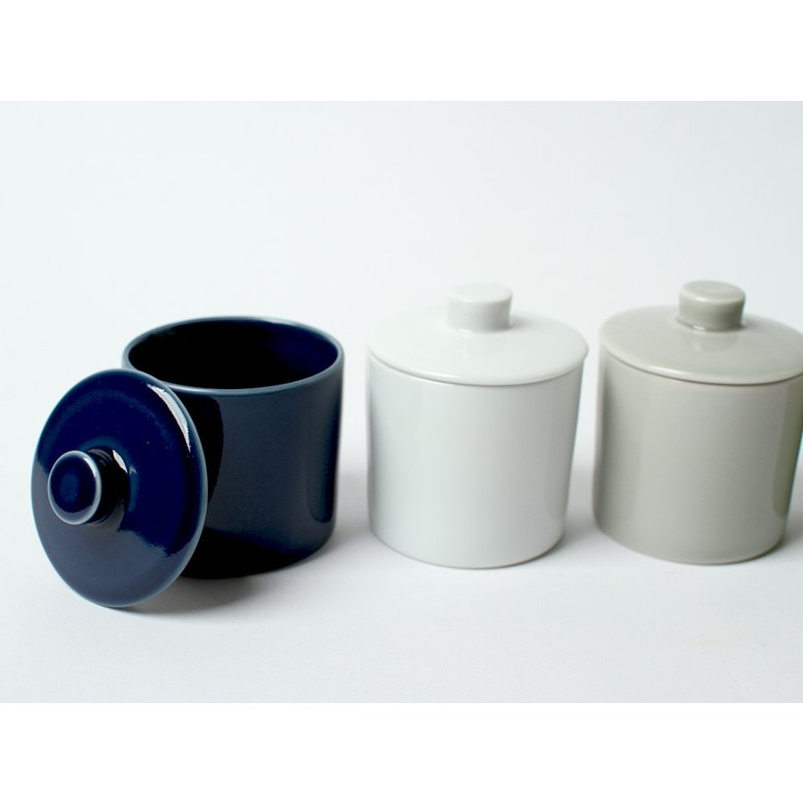 Common シュガーポット 100ml 砂糖入れ 西海陶器 SAIKAI WH GY YE NV RD GR|3244p|03