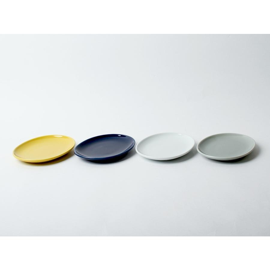 Common オーバルプレート 150mm 西海陶器 SAIKAI WH GY YE NV RD GR|3244p|04