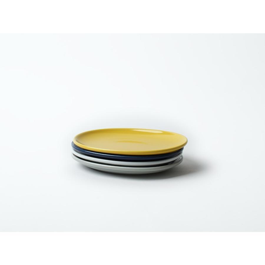 Common オーバルプレート 150mm 西海陶器 SAIKAI WH GY YE NV RD GR|3244p|09