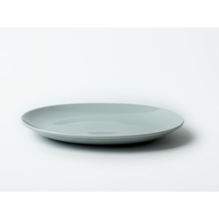 Common オーバルプレート 270mm 西海陶器 SAIKAI WH GY YE NV RD GR|3244p|12