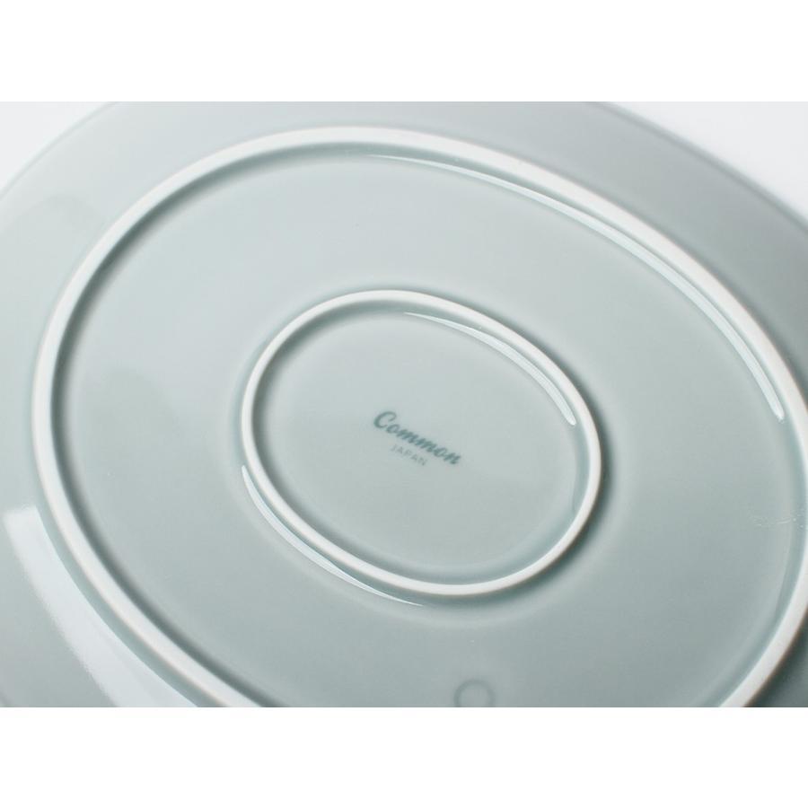 Common オーバルプレート 270mm 西海陶器 SAIKAI WH GY YE NV RD GR|3244p|15
