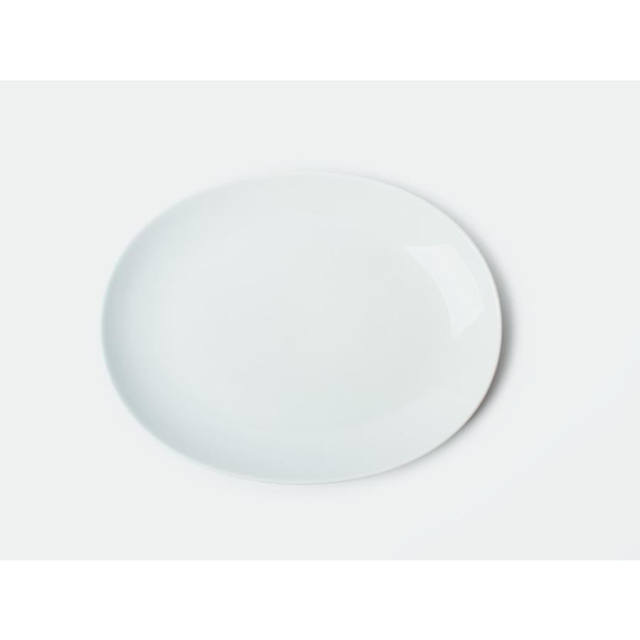 Common オーバルプレート 270mm 西海陶器 SAIKAI WH GY YE NV RD GR|3244p|08