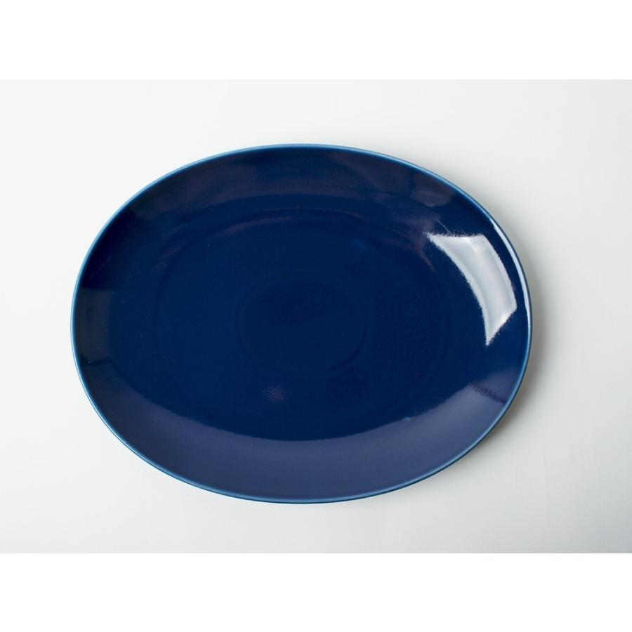 Common オーバルプレート 310mm 西海陶器 SAIKAI WH GY YE NV RD GR|3244p|11