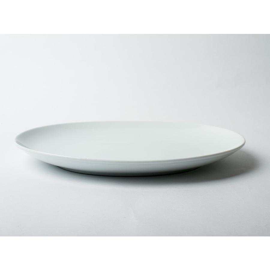 Common オーバルプレート 310mm 西海陶器 SAIKAI WH GY YE NV RD GR|3244p|12