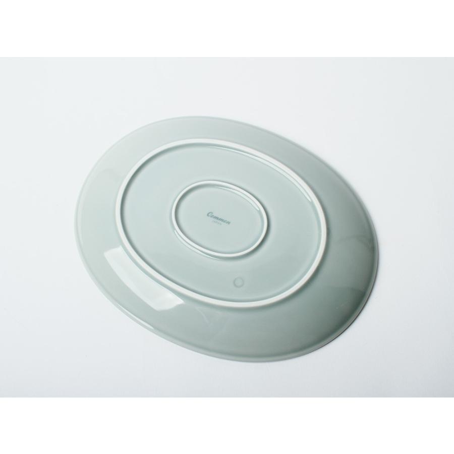 Common オーバルプレート 310mm 西海陶器 SAIKAI WH GY YE NV RD GR|3244p|14