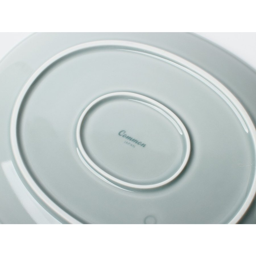 Common オーバルプレート 310mm 西海陶器 SAIKAI WH GY YE NV RD GR|3244p|15