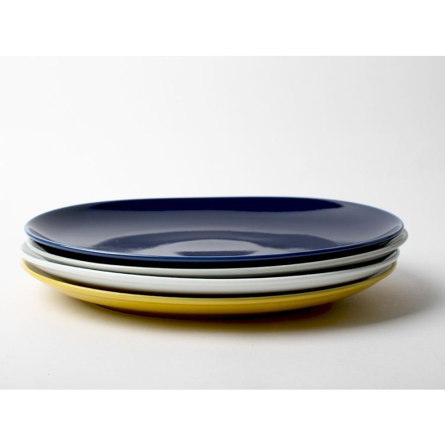 Common オーバルプレート 310mm 西海陶器 SAIKAI WH GY YE NV RD GR|3244p|16