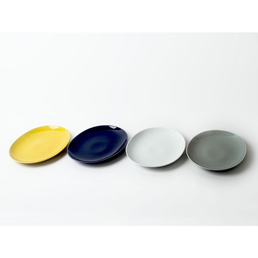 Common オーバルプレート 310mm 西海陶器 SAIKAI WH GY YE NV RD GR|3244p|04