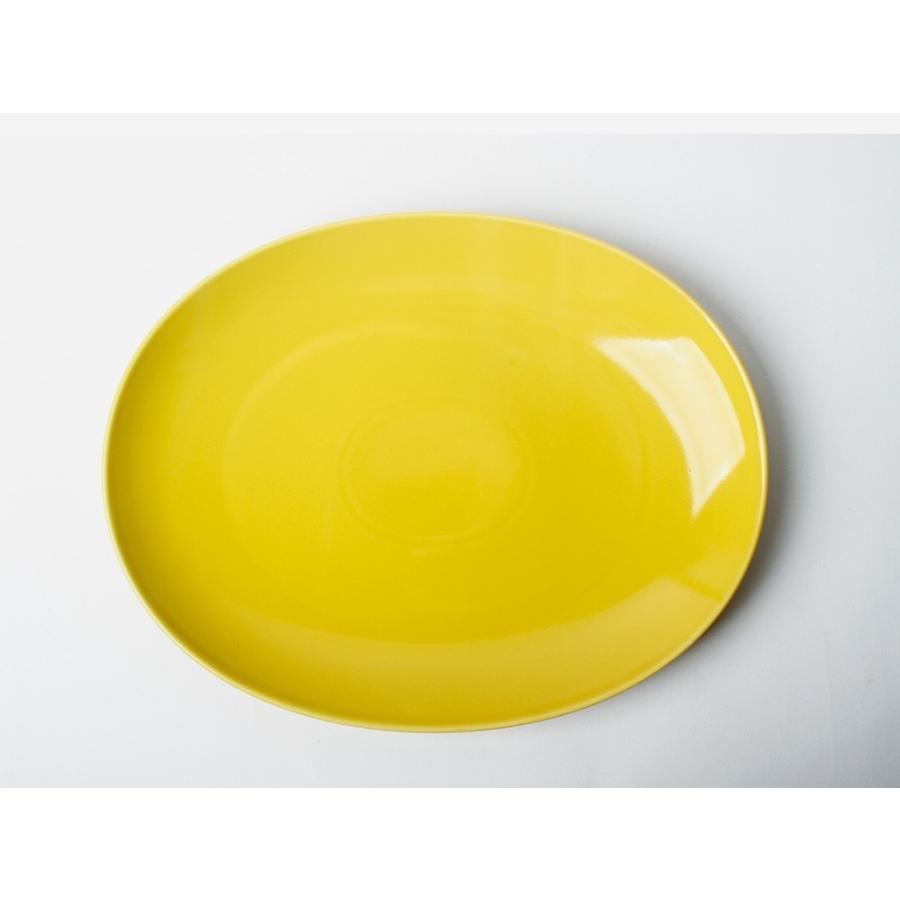 Common オーバルプレート 310mm 西海陶器 SAIKAI WH GY YE NV RD GR|3244p|10