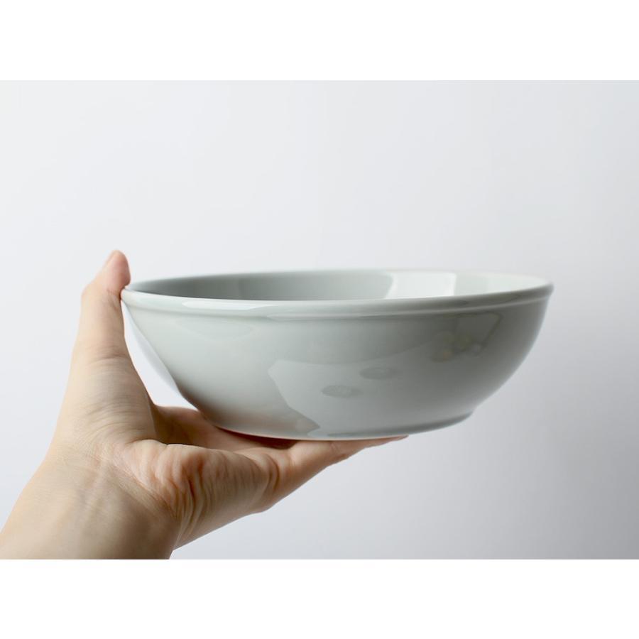 Common ボウル φ180mm 西海陶器 SAIKAI WH GY YE NV RD GR|3244p|08