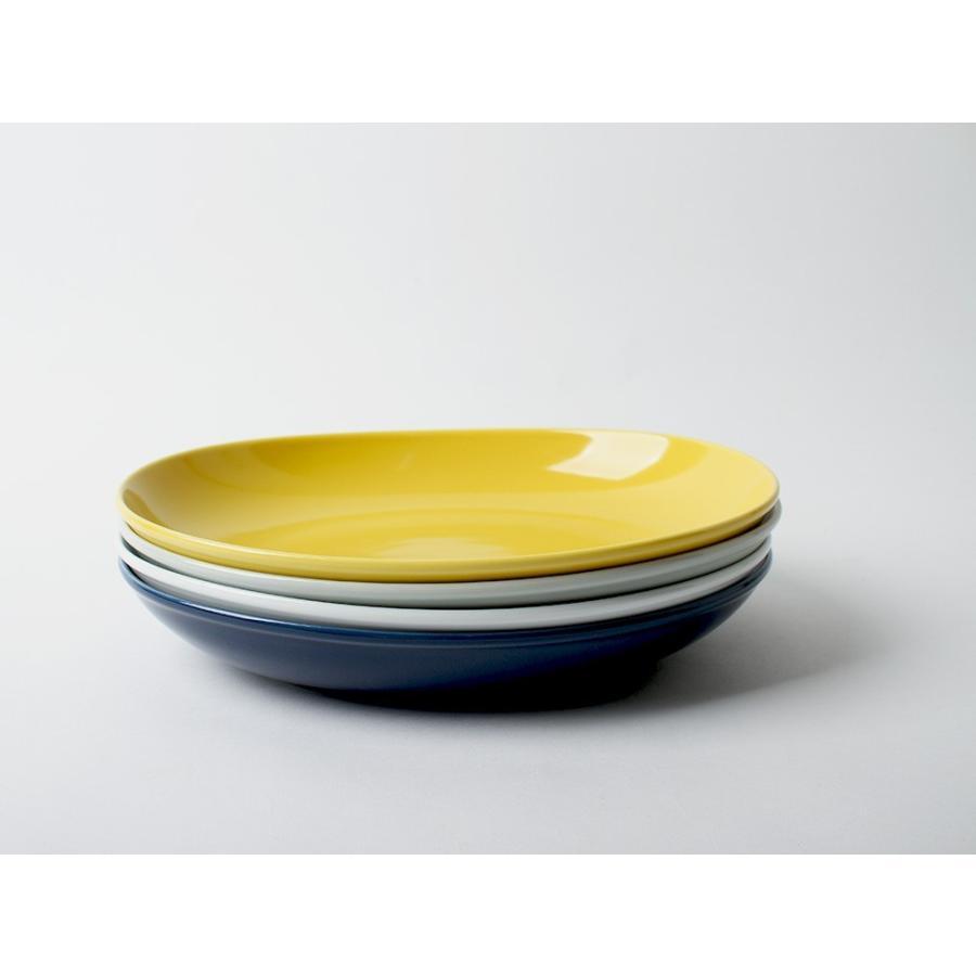 Common オーバルボウル 270mm 西海陶器 SAIKAI WH GY YE NV RD GR|3244p|13
