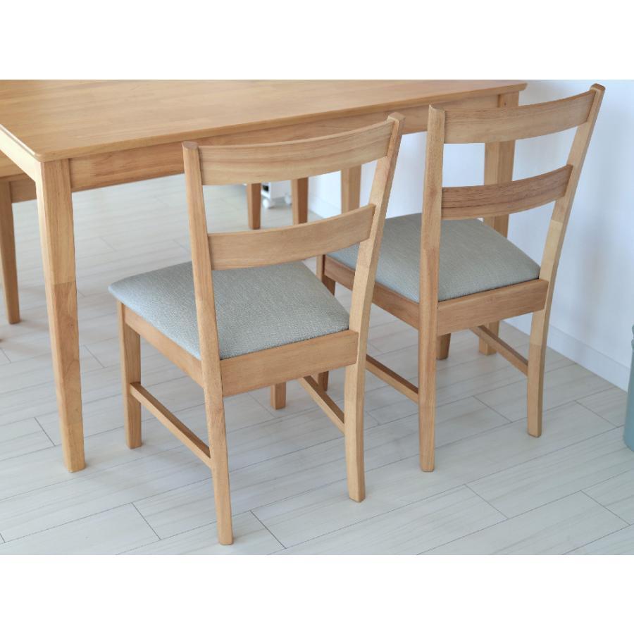 ダイニングテーブルセット 4点 4人 ダイニングセット ダイニングテーブル W1200 ダイニングチェア2脚 2人掛ベンチ1台 MTS-060、MTS-061 、MTS-062|3244p|06