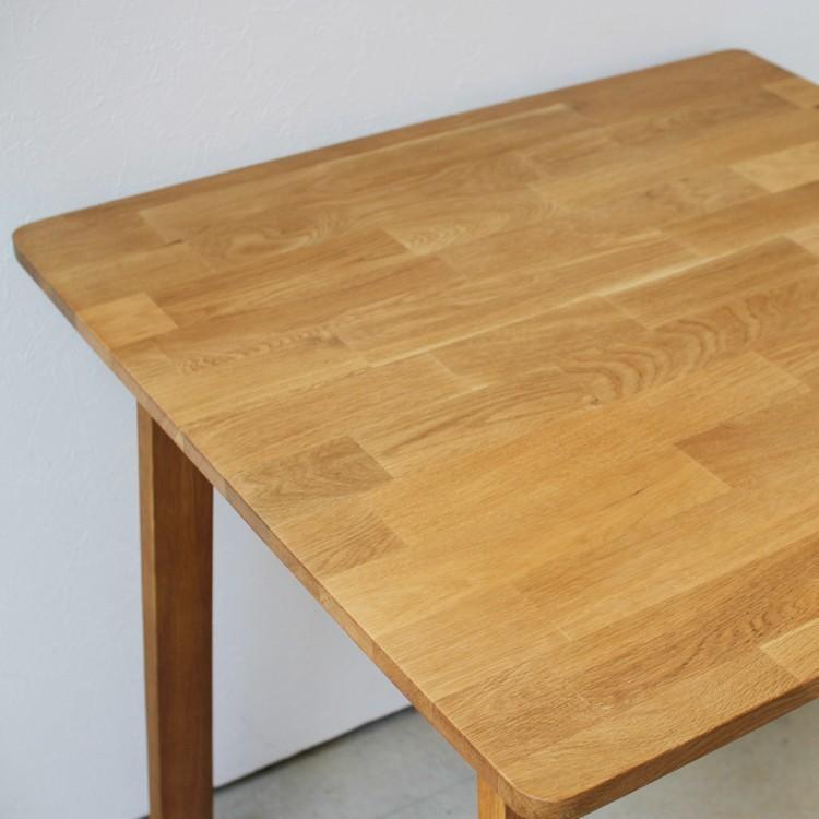 ダイニングテーブルセット 3点 2人 ダイニングセット オーク テーブル W750 チェア2脚セットMTS-087、MTS-092|3244p|11