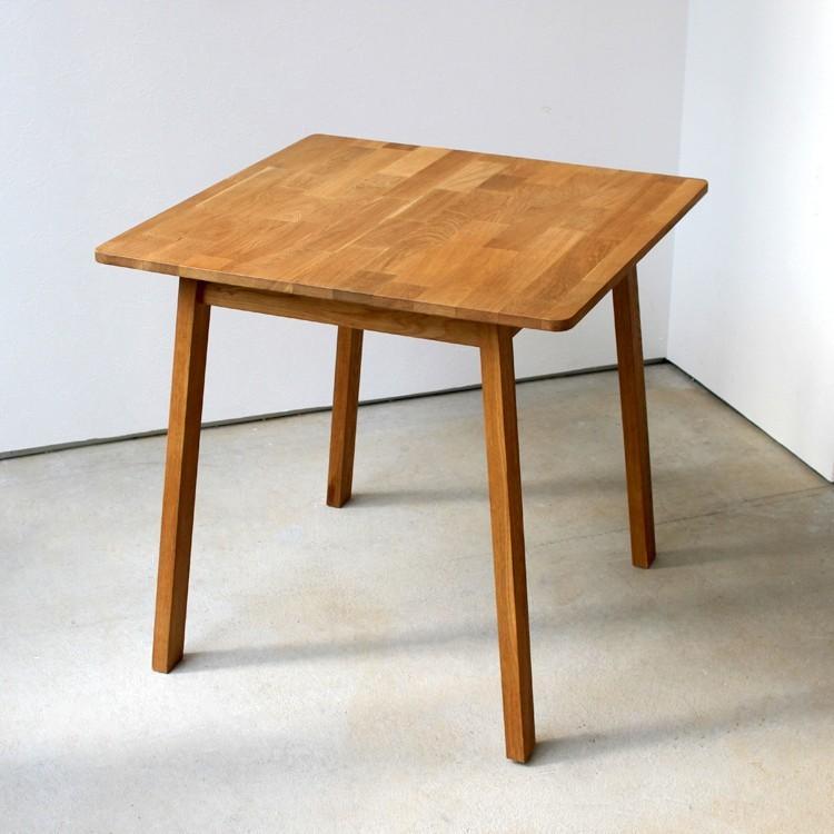 ダイニングテーブルセット 3点 2人 ダイニングセット オーク テーブル W750 チェア2脚セットMTS-087、MTS-092|3244p|09