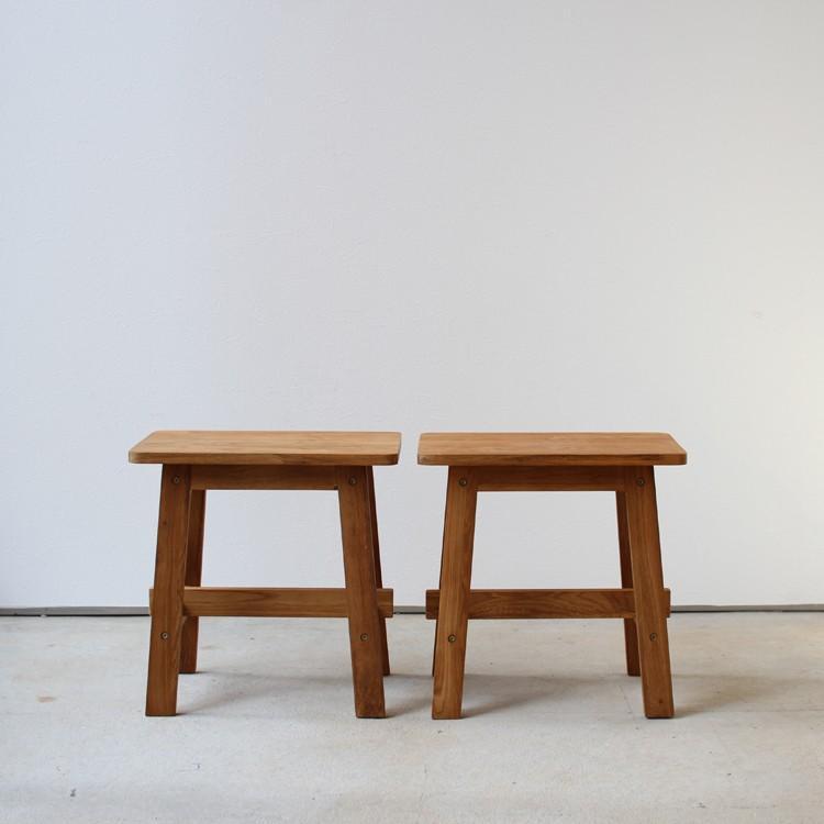 ダイニングテーブルセット 4点 4人 ダイニングセット オーク テーブル W1200 スツール2脚 ベンチ1台 MTS-086、MTS-089、MTS-090|3244p|16