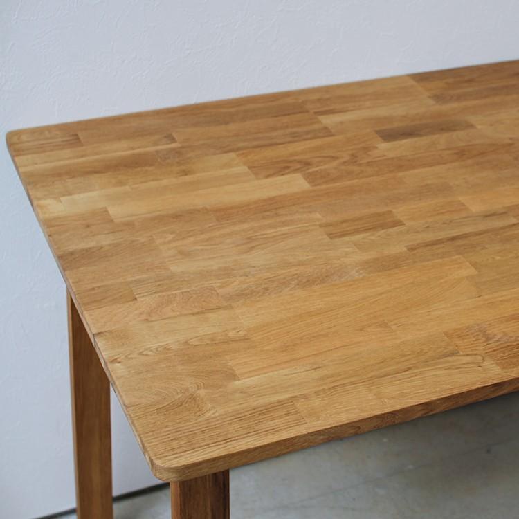 ダイニングテーブルセット 4点 4人 ダイニングセット オーク テーブル W1200 スツール2脚 ベンチ1台 MTS-086、MTS-089、MTS-090|3244p|10