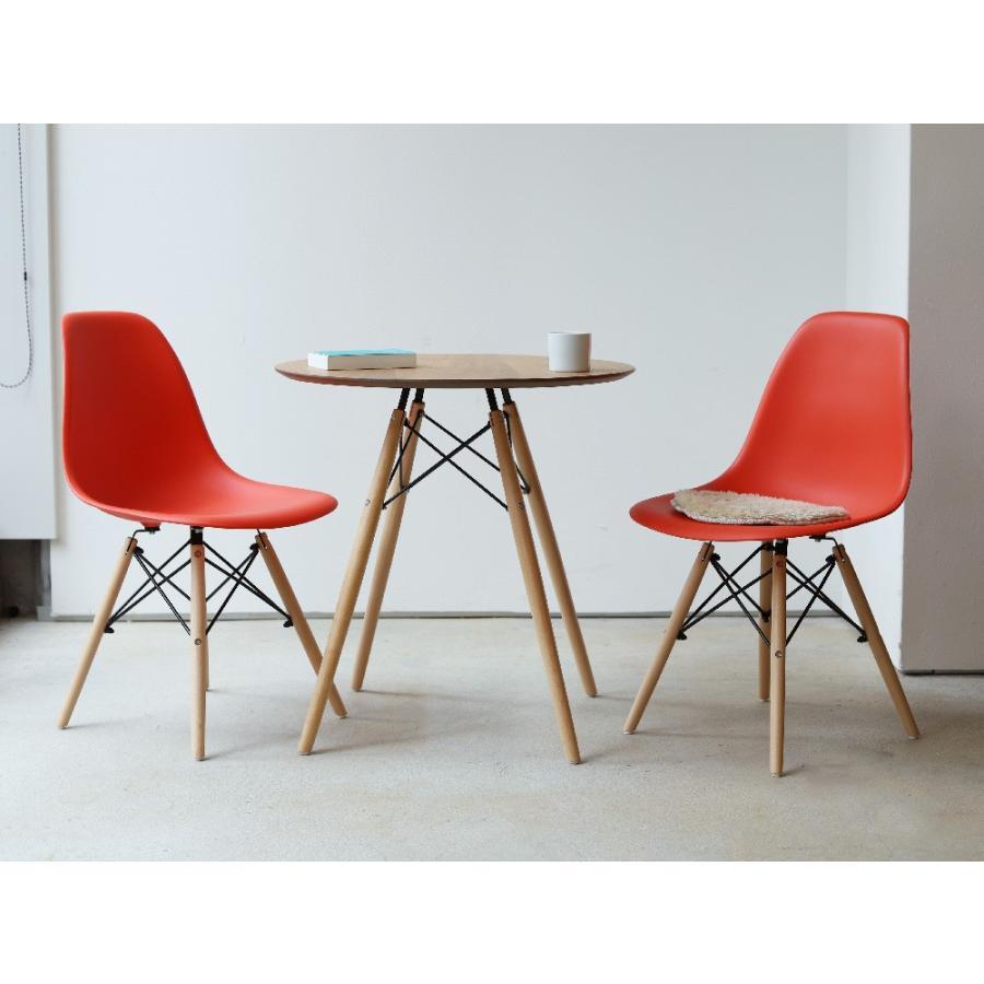 イームズチェア シェルチェア 2脚セット 椅子 イス DSW eames ダイニングチェア リプロダクト デザイナーズ家具 ジェネリック 木脚 MTS-032(NA)|3244p|02