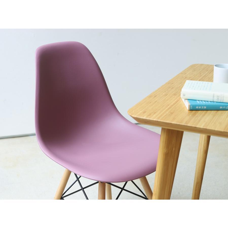 イームズチェア シェルチェア 2脚セット 椅子 イス DSW eames ダイニングチェア リプロダクト デザイナーズ家具 ジェネリック 木脚 MTS-032(NA)|3244p|16
