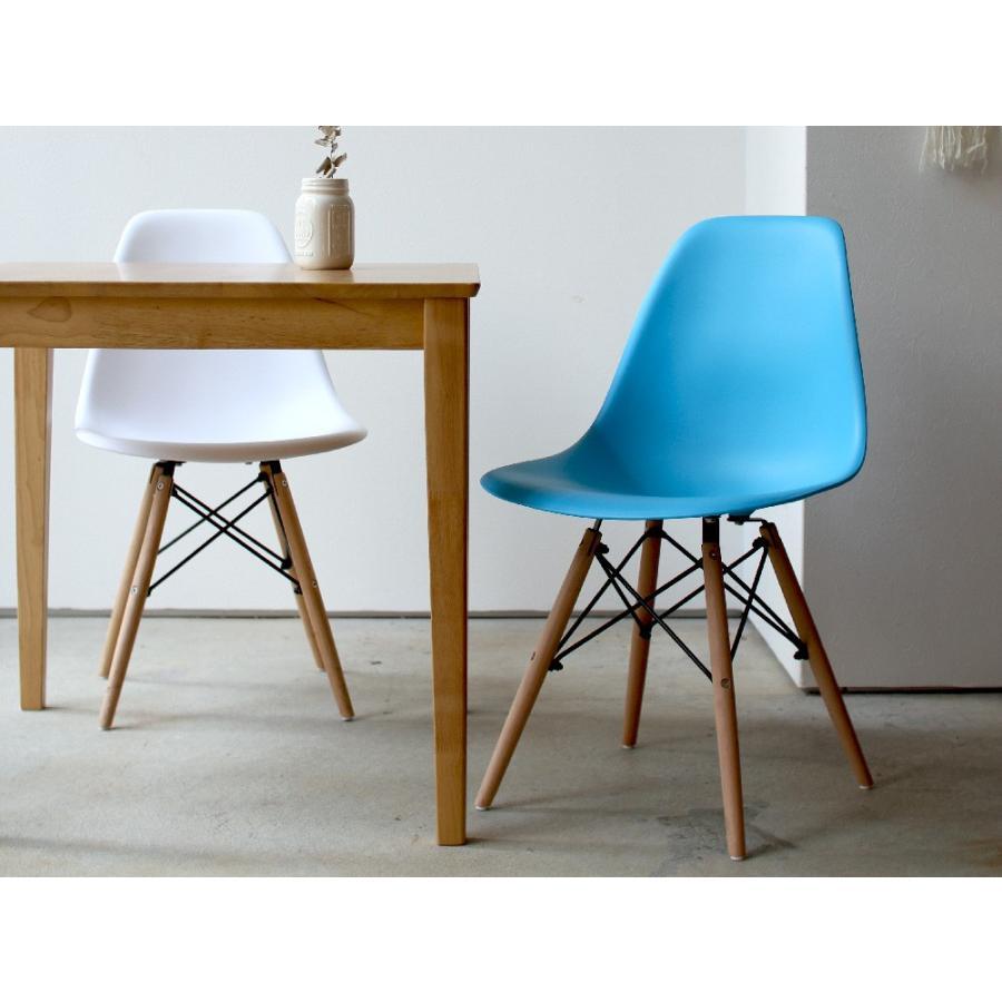 イームズチェア シェルチェア 2脚セット 椅子 イス DSW eames ダイニングチェア リプロダクト デザイナーズ家具 ジェネリック 木脚 MTS-032(NA)|3244p|18