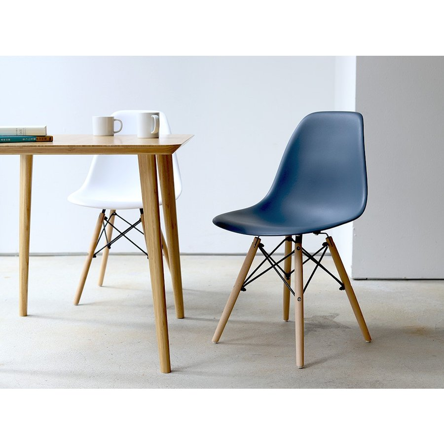 イームズチェア シェルチェア 2脚セット 椅子 イス DSW eames ダイニングチェア リプロダクト デザイナーズ家具 ジェネリック 木脚 MTS-032(NA)|3244p|03