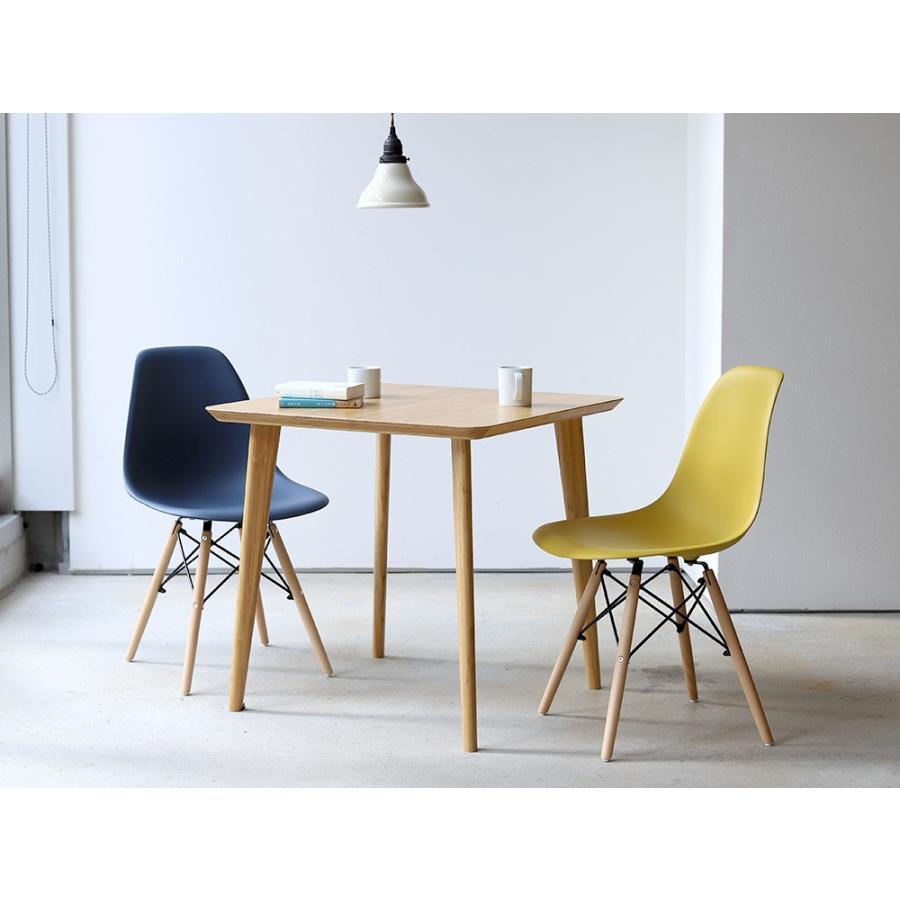 イームズチェア シェルチェア 2脚セット 椅子 イス DSW eames ダイニングチェア リプロダクト デザイナーズ家具 ジェネリック 木脚 MTS-032(NA)|3244p|04