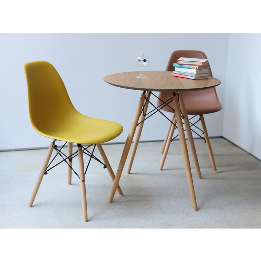 イームズチェア シェルチェア 2脚セット 椅子 イス DSW eames ダイニングチェア リプロダクト デザイナーズ家具 ジェネリック 木脚 MTS-032(NA)|3244p|06