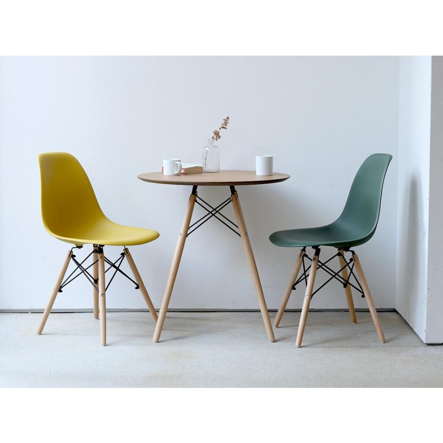 イームズチェア シェルチェア 2脚セット 椅子 イス DSW eames ダイニングチェア リプロダクト デザイナーズ家具 ジェネリック 木脚 MTS-032(NA)|3244p|10