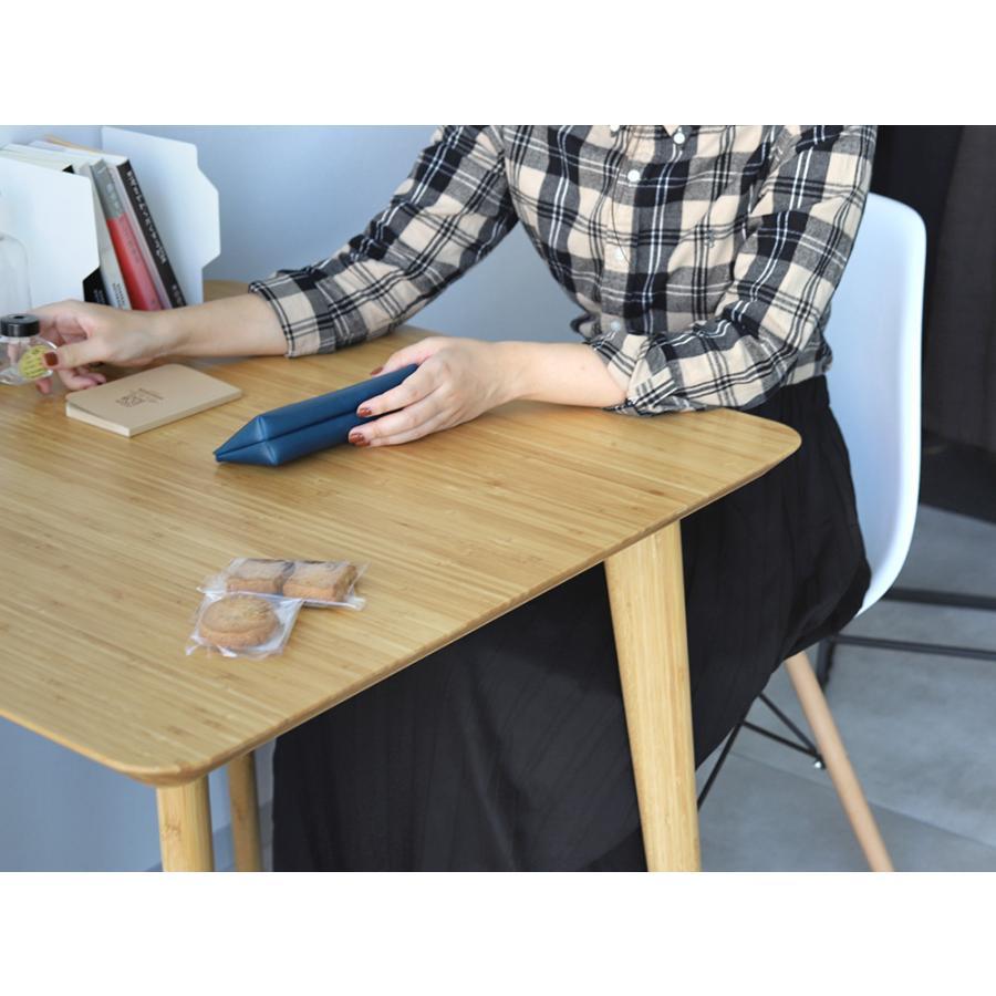 ダイニングテーブルセット 3点 2人 ダイニングセット 竹製 バンブー ダイニングテーブル W750 シェルチェア 15色 同色2脚セット MTS-085、MTS-032 WH|3244p|12