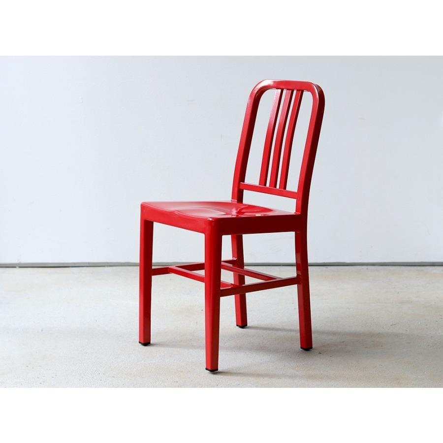 ネイビーチェア 2脚セット リプロダクト 椅子 イス ダイニングチェア レッド アルミ ブラック MTS-056 3244p 11