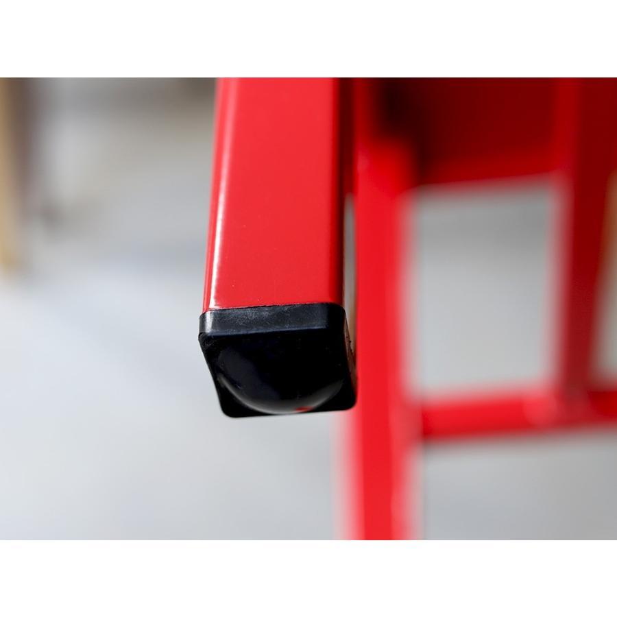 ネイビーチェア 2脚セット リプロダクト 椅子 イス ダイニングチェア レッド アルミ ブラック MTS-056 3244p 12