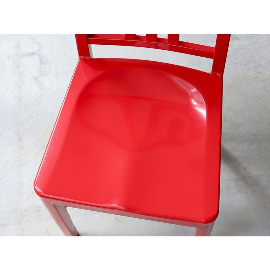 ネイビーチェア 2脚セット リプロダクト 椅子 イス ダイニングチェア レッド アルミ ブラック MTS-056 3244p 13