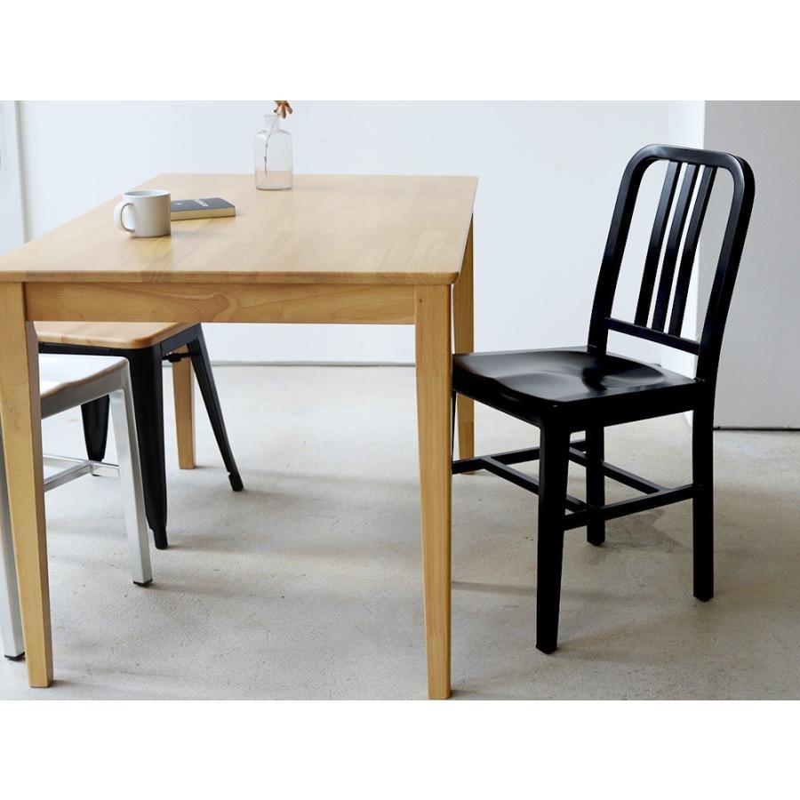 ネイビーチェア 2脚セット リプロダクト 椅子 イス ダイニングチェア レッド アルミ ブラック MTS-056 3244p 05