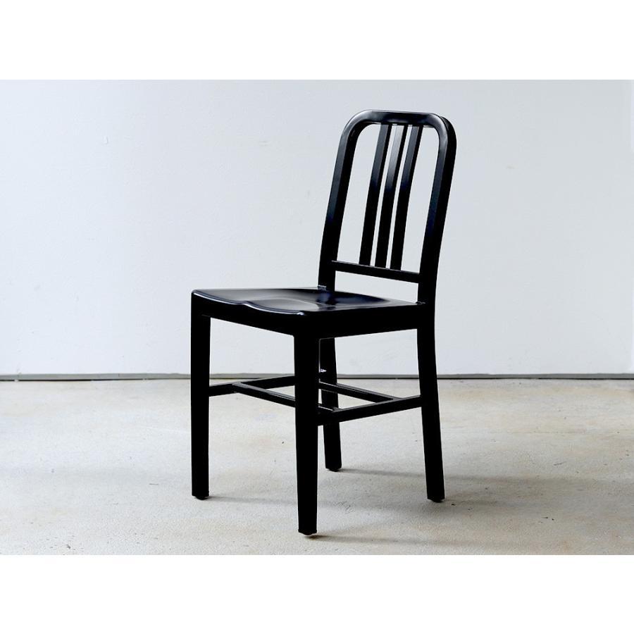 ネイビーチェア 2脚セット リプロダクト 椅子 イス ダイニングチェア レッド アルミ ブラック MTS-056 3244p 09