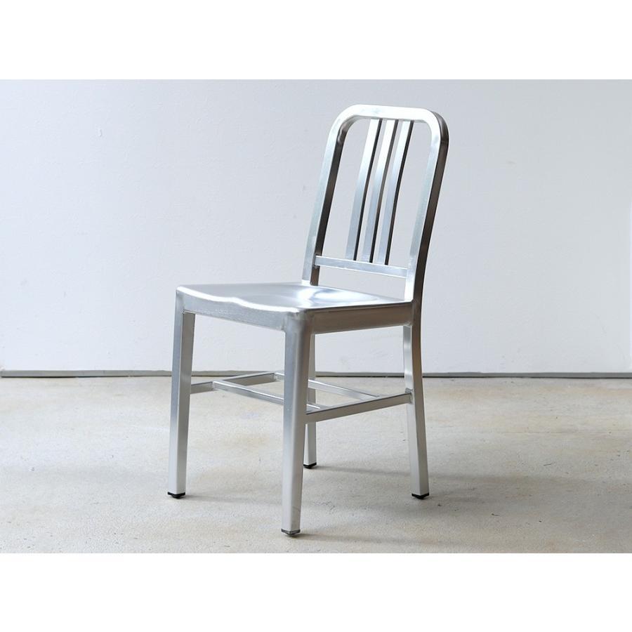 ネイビーチェア 2脚セット リプロダクト 椅子 イス ダイニングチェア レッド アルミ ブラック MTS-056 3244p 10