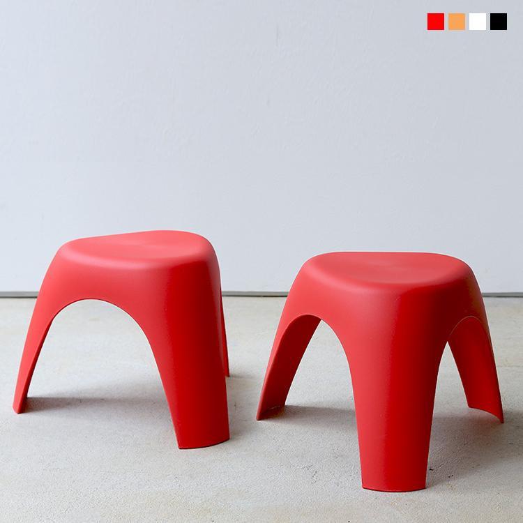 エレファントスツール 2脚セット elephant stool WH BK RD OR リプロダクト ジェネリック 柳宗理 デザイナーズ MTS-138 3244p