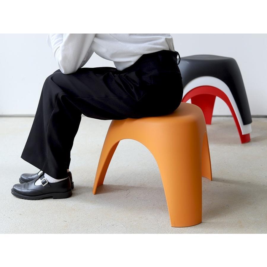 エレファントスツール 2脚セット elephant stool WH BK RD OR リプロダクト ジェネリック 柳宗理 デザイナーズ MTS-138 3244p 02