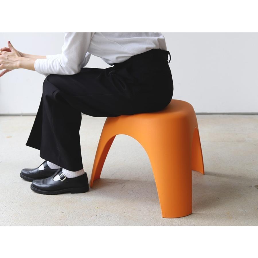 エレファントスツール 2脚セット elephant stool WH BK RD OR リプロダクト ジェネリック 柳宗理 デザイナーズ MTS-138 3244p 12