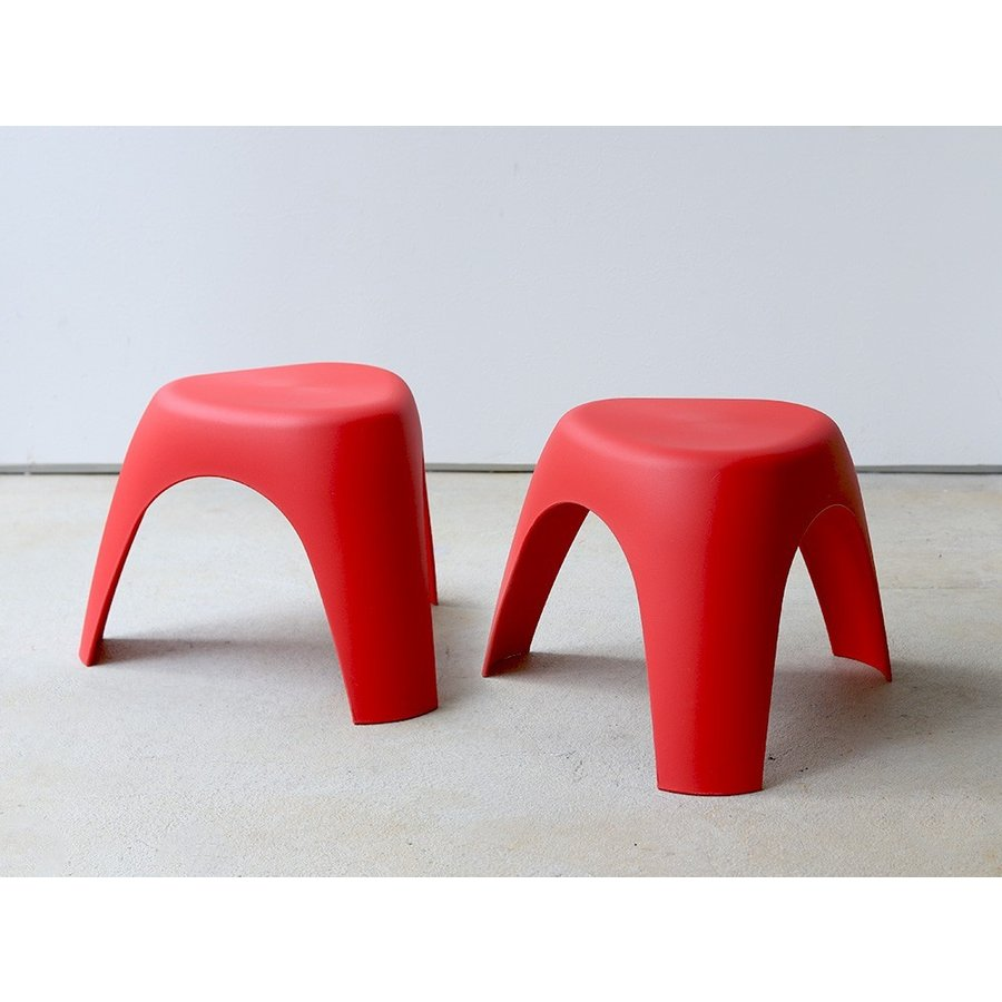 エレファントスツール 2脚セット elephant stool WH BK RD OR リプロダクト ジェネリック 柳宗理 デザイナーズ MTS-138 3244p 13