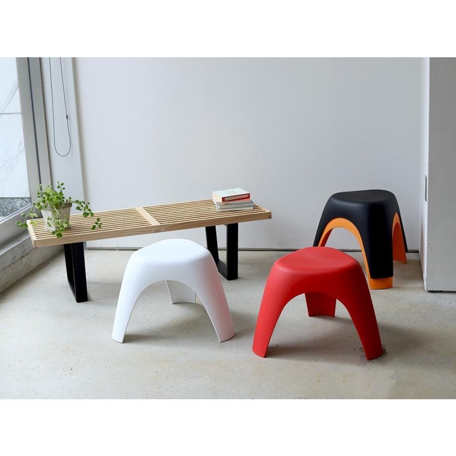 エレファントスツール 2脚セット elephant stool WH BK RD OR リプロダクト ジェネリック 柳宗理 デザイナーズ MTS-138 3244p 04